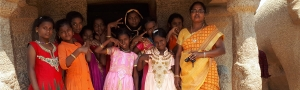 Pure-Kerala-Tours-girls-Mahabalipuram